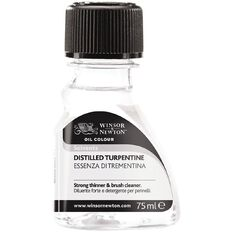 Winsor & Newton Distilled Turpentine 75ml