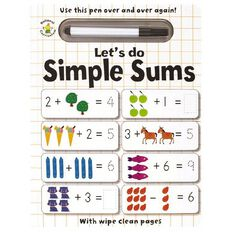 Wipe Clean: Let's Do Simple Sums
