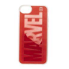 Marvel iPhone 6/7/8/SE 2020 Liquid Sand Case Red Brick