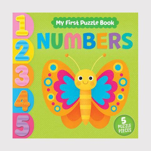 My First Puzzle Book Numbers