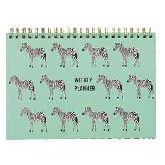 Uniti Fun & Funky Q4 Zee Weekly Planner Green