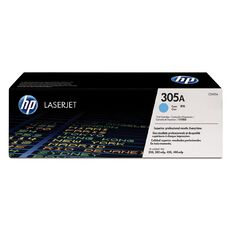 HP 305A Cyan Contract LaserJet Toner Cartridge (2600 Pages)