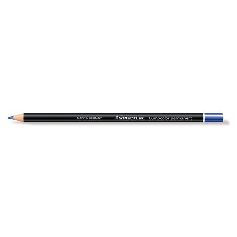 Staedtler Glasochrom Pencil Permanent Pack 12 Blue