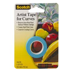 Scotch Scotch Art Tape For Curves 4.2mm x 9.1m White
