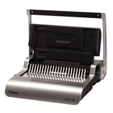 Fellowes Binder Quasar Plus 500 Manual Grey