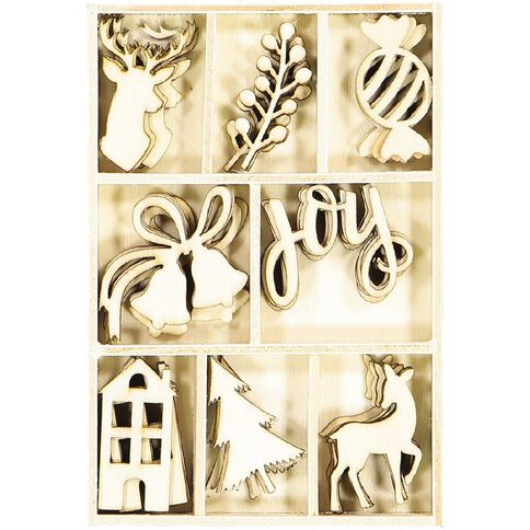 Rosie's Studio Bows & Bells Veneer Set 40 Pieces