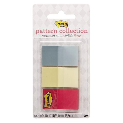 Post-It Pattern Flags 680-Candy 23.8mm x 43.2mm Candy Collection