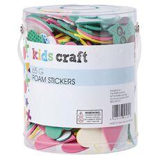 Kookie Foam Stickers Multi-Coloured 65g