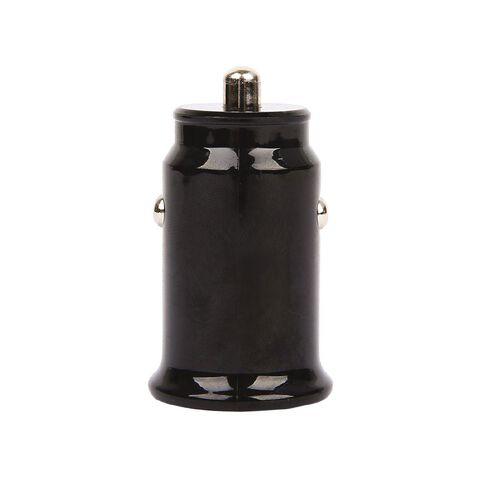 Tech.Inc Dual USB Car Charger 2.4A Black