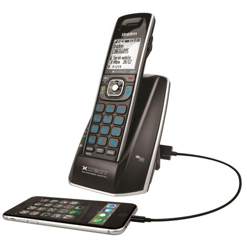 Uniden Xdect8315 Cordless Phone Black