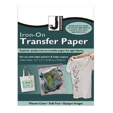 Jacquard Iron-On Transfer Paper 3 Pack