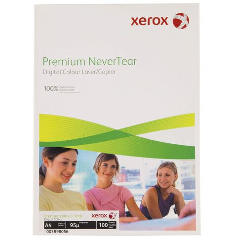 Fuji Xerox Nevertear Premium Paper 95 Micron 100 Sheets White A4