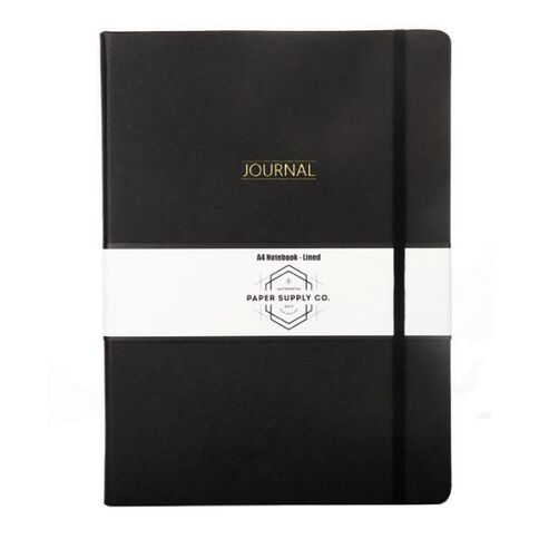 Paper Co Citta Journal Black A4