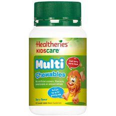 Healtheries Kidscare Multivitamin Chewables 60s