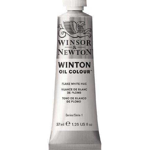 Winsor & Newton Winton Oil Paint 37ml Flake Hue White