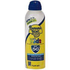 Banana Boat Kids Clear Spray SPF50+ 175g