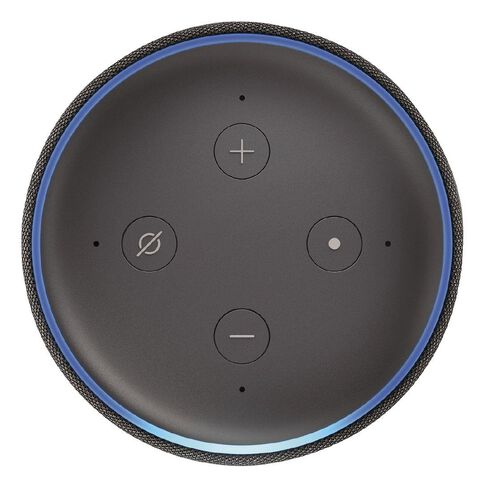 Amazon Echo Plus 2nd Gen Charcoal + Bonus E27 bulb