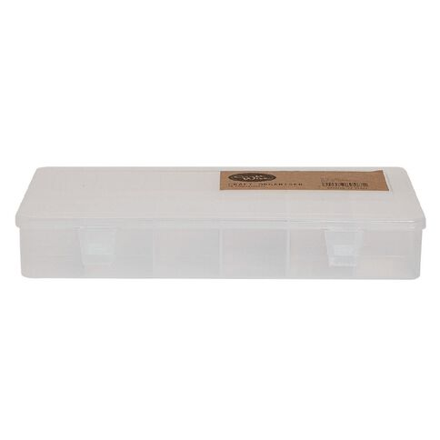 Craftwise Craft Organiser 18 Compartments Clear