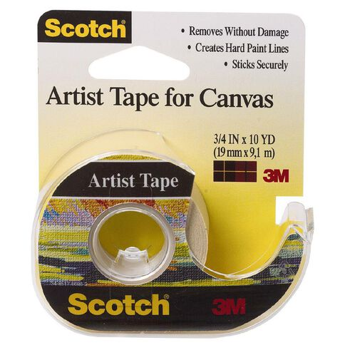 Scotch Art Tape For Canvas 19mm x 9.1m