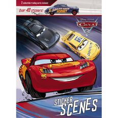 Disney Pixar Cars 3 Sticker Scenes