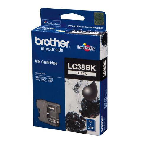 Brother Ink LC38 Black (300 Pages)