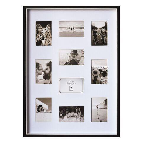 Uniti Two Tone Collage Box Frame Black 50 x 70cm Black
