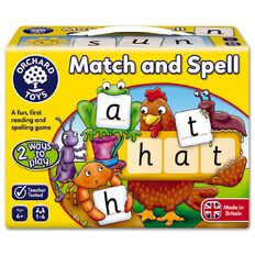 Orchard Toys Game Match And Spell