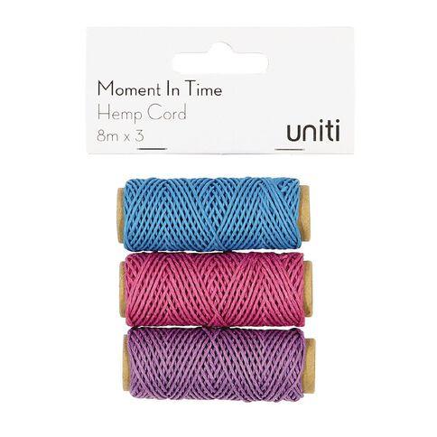 Uniti Moment in Time Hemp Twine 3 pack
