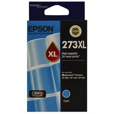 Epson Ink 273XL Cyan (650 Pages)