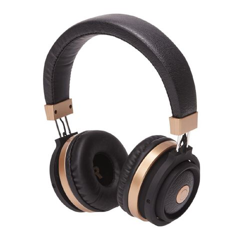 Tech.Inc Resound Bluetooth Headphones Black/Gold