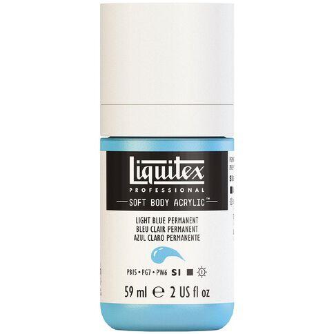 Liquitex Soft Body Acrylic 59ml Light Blue S1