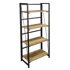 Living & Co Austin Folding Bookcase