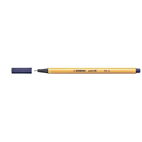 Stabilo Point 88 Fineliner 0.4mm Night Blue