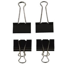 Uniti The Den Large Binder Clip Set 4 Pack