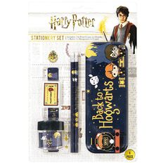 Harry Potter Tin Stationery Set 6 Pieces