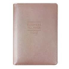 Modena Planner Mid Year 2020/21 Business Goals Week To View Pink