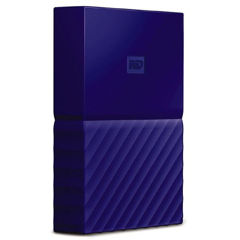 WD My Passport Ultra 2TB USB 3.0 External Hdd Blue