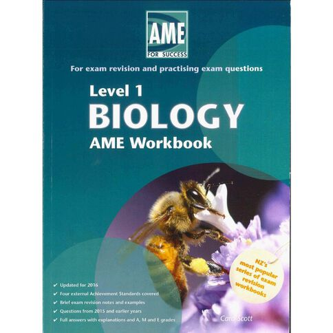 Ncea Year 11 Biology Workbook