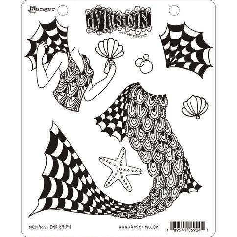 Ranger Dylusions Stamp Merlady