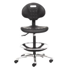 Chair Solutions Lab PU Tech Chair Black