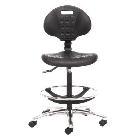 Chair Solutions Lab PU Tech Chair Black