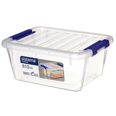 Sistema Storage Organiser 810ml Clear