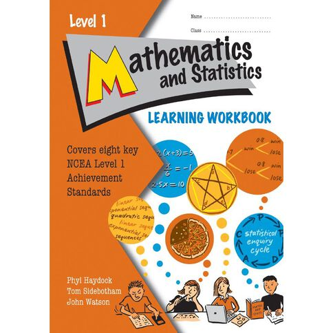 Ncea Year 11 Maths And Stats Learning Workbook