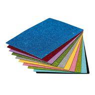 Kookie EVA Foam Sheets Glitter 20 Piece