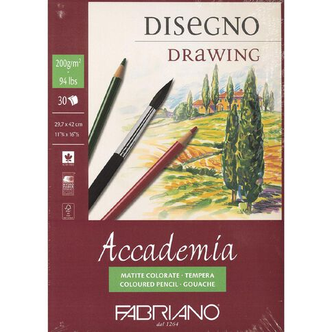 Fabriano Accademia 200gsm A3 A3