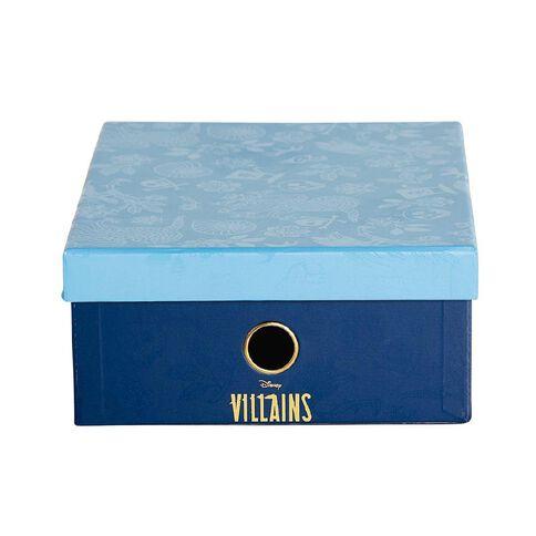 Disney Villains Storage Box Navy and Blue A4