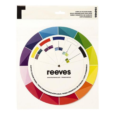 Reeves Acrylic Colour Wheel