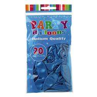 Artwrap Helium Balloons Light Blue Pearl 25cm 20 Pack