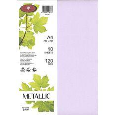 Direct Paper Metallic Paper 120gsm 10 Pack Kunzite A4