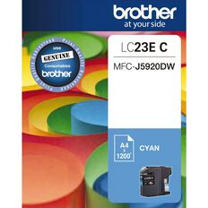 Brother Ink LC23E Cyan (1200 Pages)